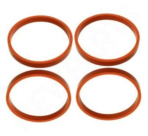 For Mini R55 R56 R57 Intake Manifold Gaskets to Cylinder Head Set of 4 Genuine