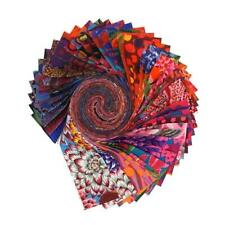 """August 2020 Hot Design Roll Jelly Roll by Kaffe Fassett FreeSpirit 40 2.5"""" STR"""