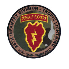 NEW 25th Infantry Tropic Lightning Jungle Expert Patch - Green Hell - Hawaii