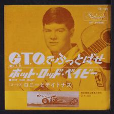 RONNY & DAYTONAS: G.t.o. / Hot Rod Baby 45 (Japan, PS, close to M-)