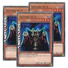 3x SIGNORE DI D. (SPEED DUEL) (Lord Of D.) • Comune SS02 ITA05 Yugioh ANDYCARDS