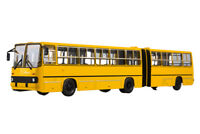 SOVA 900223 1:43 IKARUS 280 MOSCOW (USSR RUSSIAN BUS) 1980 YELLOW | ИКАРУС 280 Г