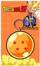 DRAGON BALL Portachiavi Gomma SFERA 4 STELLE 7 cm! rubber keychain keyring