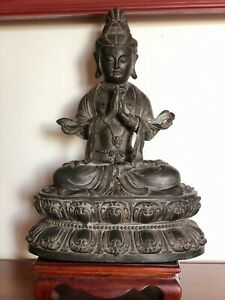 Antique Asian Collection Art Old Bronze