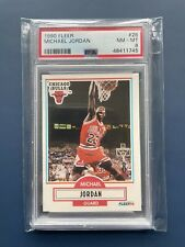More details for michael jordan guard psa 8 fleer 1990 basketball card collectors
