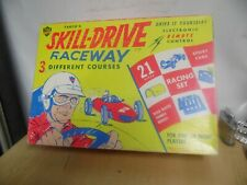 VINTAGE TARCO'S SKILL DRIVE RACE WAY  GAME ESTATE FIND