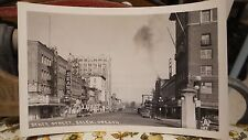 Vintage Unsent RPPC SALEM, OREGON, State Street, Sears Store, Hotels