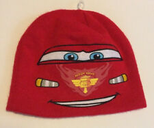 Boys-Disney-Pixar-Cars-Lightning-Mcqueen-Knit-Hat-Beanie-Embroidered-Piston-Cup