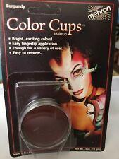Greasepaint Color Cups Burgundy .5 oz  USA  Mehron