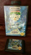 Teenage Mutant Ninja Turtles Hyperstone Heist (1991) Genesis, Case, Cart ONLY