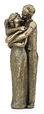 Soulmates Lovers Kissing Statue Sculpture Figurine WEDDING ANNIVERSARY GIFT