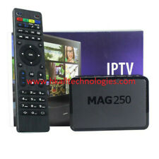 MAG 250 Set Top Box H.256 Multimedia Player Internet TV Receiver