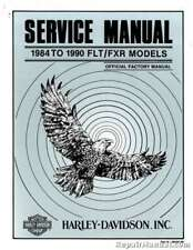 1984-1990 Harley Davidson FLT FXR Motorcycle Service Manual : 99483-90