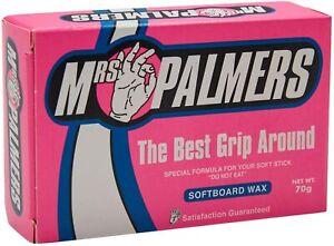 Mrs Palmers Softboard Surf Wax NEW Bodyboard Soft Surfboard Foamie