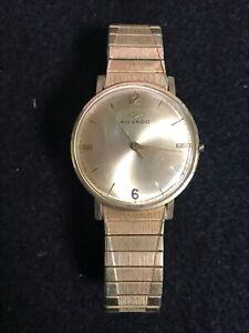 Movado 14K Gold Filled Sub-Sea Swiss Men's Wrist Watch