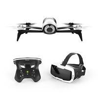 Parrot Bebop 2 FPV Drone Kit & Parrot CockpitGlasses &  SkyController 2 (White)