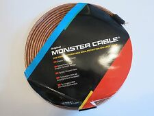 Monster Cable Mc-30/30 New Monster Cable Clear Jacket Speaker Cable 30 ft Single