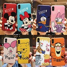 For IPhone 12 11 Pro XS Max XR 6 7 8 Cute Cartoon Animals Disney Duck Phone Case