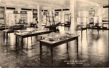 Stillman Building, Marine Museum Mystic CT Vintage Postcard W20