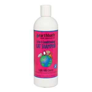 Earthbath Natural Gentle Conditioning Formula Cat Shampoo with Aloe Vera 472ml