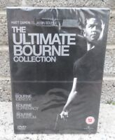 The ultimate Bourne collection DVD - Brand new and sealed - 3 disc set