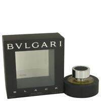 BVLGARI BLACK by Bvlgari 2.5 oz 75 ml EDT Spray  for Men New in Box