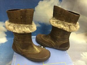 Noel Fashion Leather Zipper Boot Size 36 / Women 6 / Youth 4.5