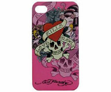 ED HARDY Love Kills Slowly LKS Cover Schutz Hülle Case Tasche Apple iPhone 4 4S