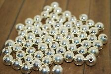 69 pieces of Silver Plated Metal Beads 8mm - A1312a+