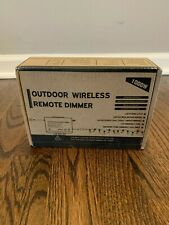1000W Wireless Outdoor Dimmer Switch, Remote Control Dimming - 100FT LED