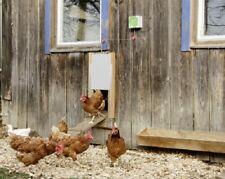 Automatische Hühnertür Schiebetür elektrische Hühnerklappe Stallöffner Schieber