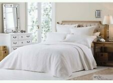 100% Cotton Coverlet / Bedspread Set Queen &  King Size Bed 230x250cm!