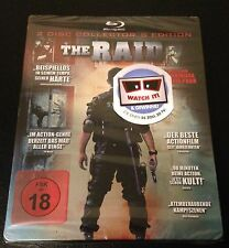 THE RAID Blu-Ray SteelBook Collector's Ed Redemption Germany Region B. New Rare!