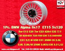 1 Cerchio BMW Alpine Style 8x17 ET15 5x120 5 6 7er Wheel Felge Llanta Jante TÜV