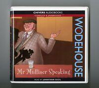 Mr Mulliner Speaking: by P.G. Wodehouse - Unabridged Audiobook - 6CDs