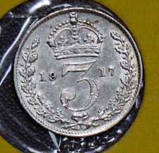 Great Britain 1917 3 Pence threepence 190496 combine shipping