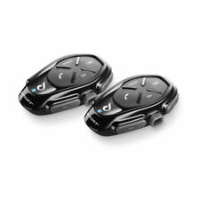 Cellularline Sport Twin Pack Interfono Bluetooth 2 Pezzi - Nere