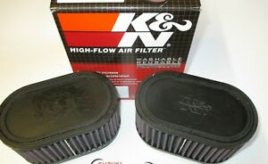 Suzuki GSXR1100 M/N  K & N Dual Air Filters. RU-2922 the genuine article!