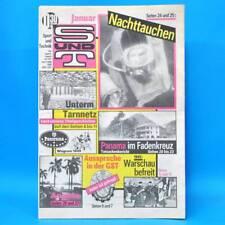 Sport und Technik 1/1990 DDR GST NVA S & T Plauen Neonazis Nachttauchen Panama M
