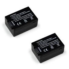 TWO BATTERIES for PANASONIC DMW-BMB9E Lumix DMC-FZ100 DMC-FZ40 BATTERY X 2