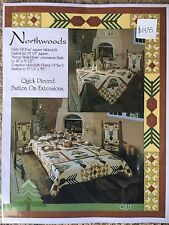 Northwoods 3 Dining Quilt Patterns by Pam Bono Design Recipes Included