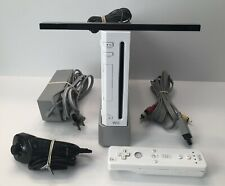 Nintendo RVL-101 Wii Console - White Complete & Tested