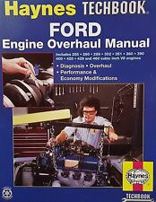 New Haynes TECHBOOK 10320 Ford Engine Overhaul Step-by-Step Repair Book