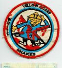 Vietnam War US Army 7th 17th AIR CAVALRY White Snake Yellow Scarf Shoulder Patch