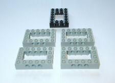LEGO Technic 5x foro pietra 32531 ALT grigio chiaro quadro Rettangolo 10030 40344 32531