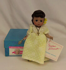 "1987 Madame Alexander Kins PHILIPPINES #531 YELLOW Gown 8"" Wendy Doll Rare MIB"