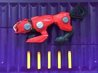 Power Rangers Beast Morphers Cheetah Beast Blaster + 5 Darts