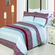 Luxurious Kimberly Printed 100% Egyptian Cotton Bed in a Bag - 4 Sizes