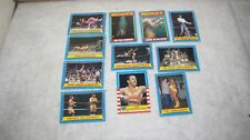 1987 Topps WWF Trading Cards (11) HULK HOGAN ANDRE THE GIANT and More
