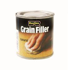 Rustins Natural Grainfiller Wood Paste 230gm Grain Filler